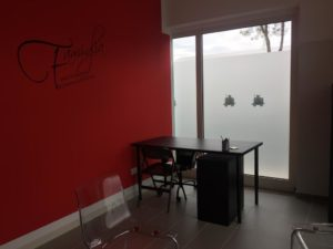 la stanza della psicologa del KonTe di Porcari