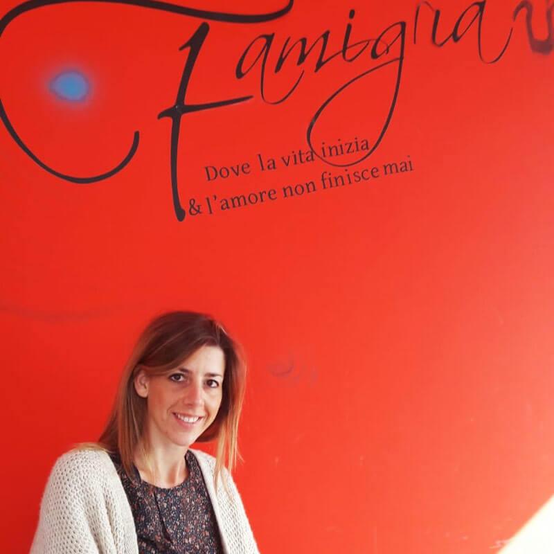 Daniela Merciadri Psicologa e Psicoterapeuta familiare nella sede di Porcari