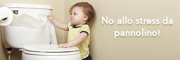 No allo stress da pannolino!
