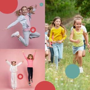 Tutti i bambini sono dei gran danzatori, lo sono mentre saltano, corrono, rotolano, scivolano.